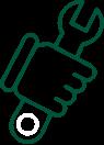Appliance repair icon